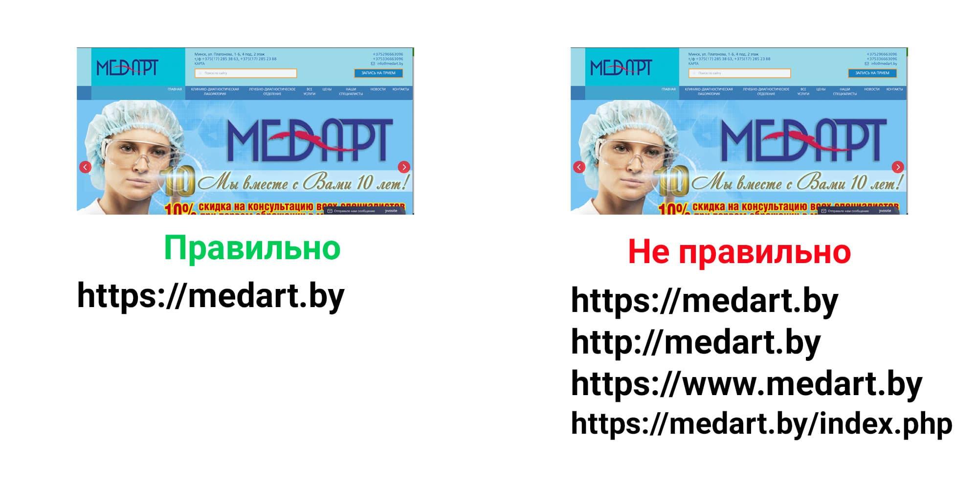 продвижение медцентра москва