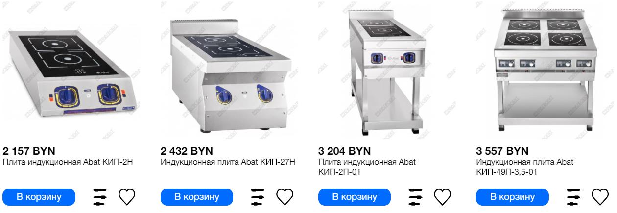 Индукционная плита Abat